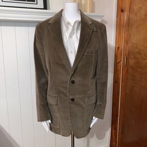 Brooks Brothers Tan Corduroy Sport Coat